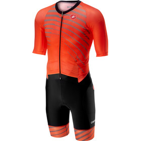 Castelli All Out Speed Suit Herrer, orange